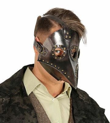 Bubonic Plague Doctor Death Maschera di Halloween Adulto Medievale Costume](Maschera Di Halloween)