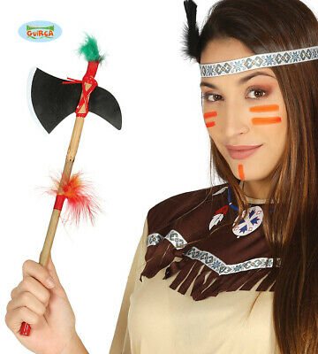 Axt, Kostüm Accessoire (Indianer Kostüm Axt Neu Fg)