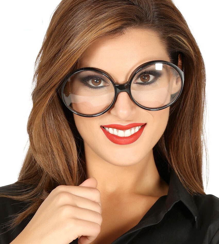Mode Office Sexy Groß Sekretärin Durchsichtige Linse Schwarz Brillen