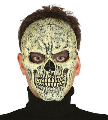Latex Menschlicher Schädel Maske Skelett Cosplay Horror Halloween Kostüm