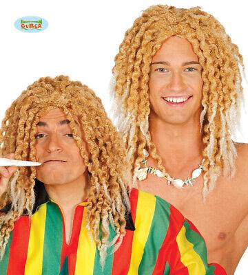 Perücke für Herren Karneval Motto Party Zubehör Jamaika Regg (Blonde Perücke Für Herren)