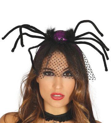Big Spider Headband Halloween Fancy Dress Costume Furry Tarantula Headdress Hat