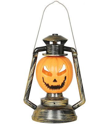 Calabaza Farol Lámpara de Luz Nocturna Decoración para Halloween Broma 32cm Alto