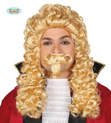 ke für Herren Herzog Richter  Karneval Fasching blond (Blonde Perücke Für Herren)