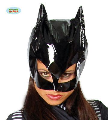 MASCHERA CATWOMAN Donna Gatta Adulto Mask Carnevale Travestimento Batman 2699