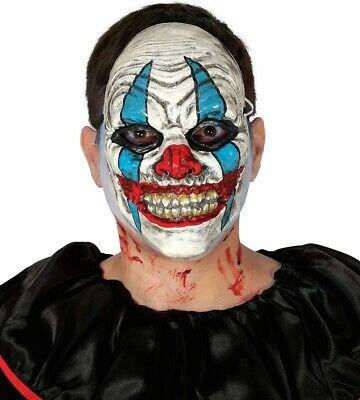 Gruseliger Clown Maske Halloween Kostüm Kinder Jungen Herren Killer Evil ()