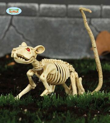Scheletro ratto topo decorazione halloween 20 cm