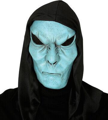Blu Latex Alien Maschera di Halloween Spazio Fancy Abito Roswell UFO Extra](Maschera Di Halloween)
