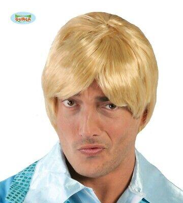 o Perücke für Herren Karneval Fasching Party blond Haare (Blonde Perücke Für Herren)