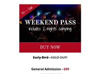 2 X Lindisfarne Festival 2017 Weekend Pass