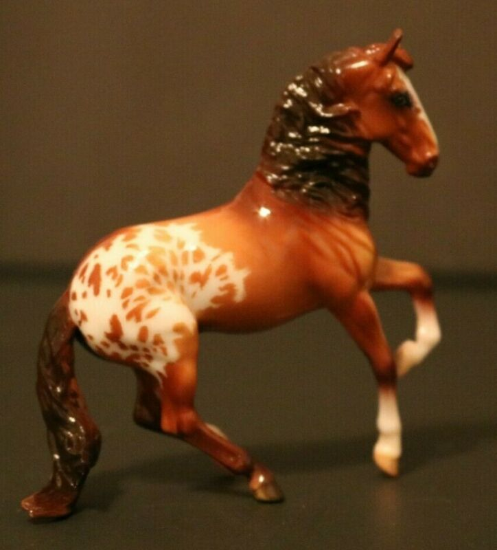 Breyer Horse Alborozo Stablemate Appaloosa Custom