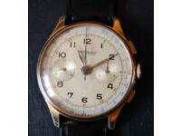 A Vintage Swiss TransMarine Chronograph.