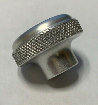 1 Aluminum Domed Knurled Knob 14-20 Blind Tadk-2a