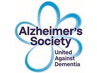 Fundraising Representative Volunteer - Alzheimer's Society
