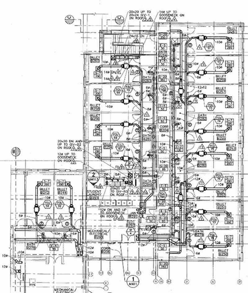 Hvac Installation Drawing
