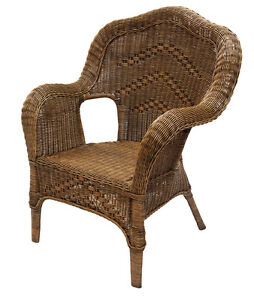 Windsor Antique Cane/Wicker/Rattan Outdoor Chair