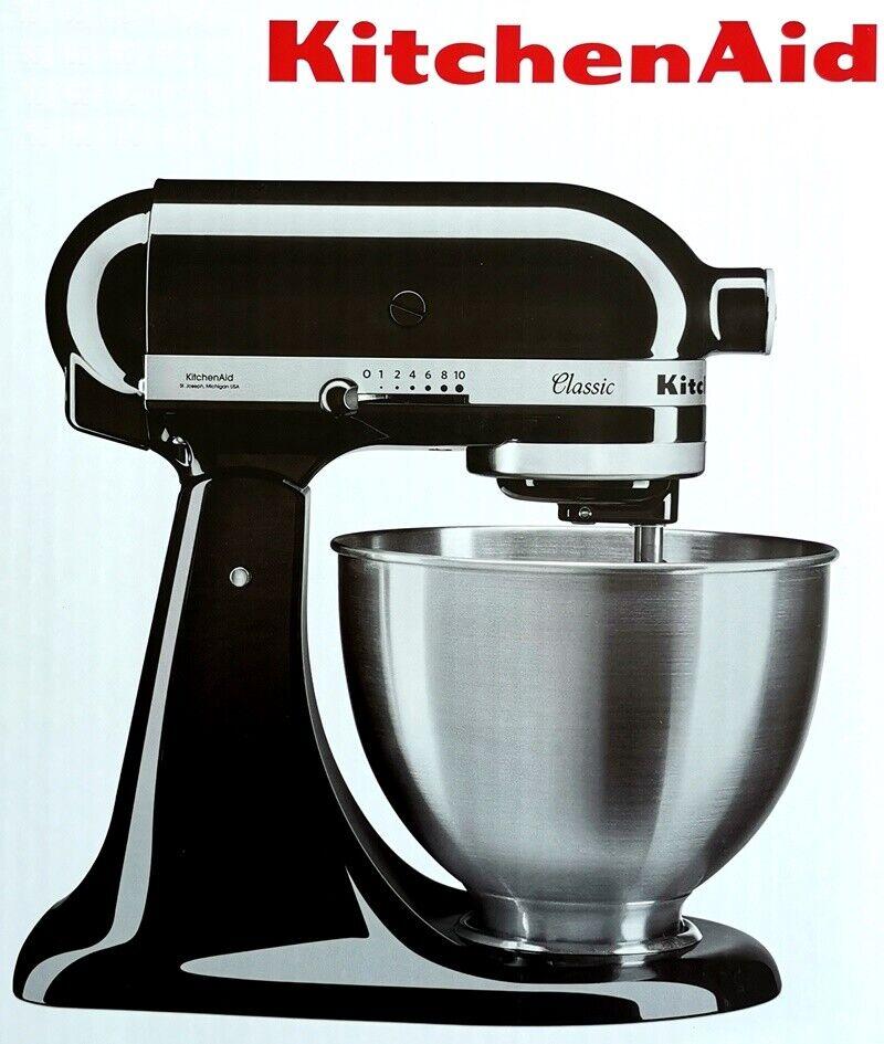 Kitchen Aid Küchenmaschine  5K45SS 4,3L Schwarz