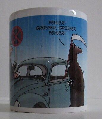 Uli Stein Tasse - Sensemann Grosser Fehler - Porzellan Henkelbecher - NEU