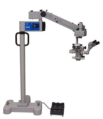 Zeiss Opmi Mdus5 Xyophthalmiccataract Retinal Surgical Microscope Warranty