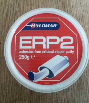 HYLOMAR ERP2 EXHAUST REPAIR PUTTY PASTE ASSEMBLY JOINT GASKET LEAK 250G NEW