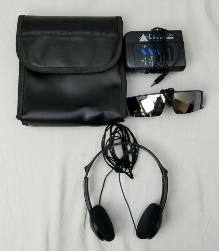 Positive Changes Hypnosis Auditory Visual Relaxation System W/ Headphones & Case