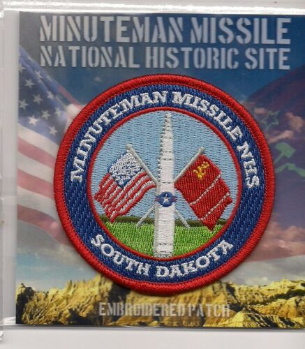 Minuteman Missile National Historic Site Souvenir Patch South Dakota