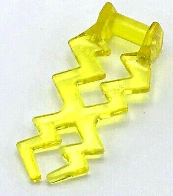 Lego Nuevo Trans-Yellow Wave Angular Eléctrico Zigzag Castillo Magia Spark Pieza