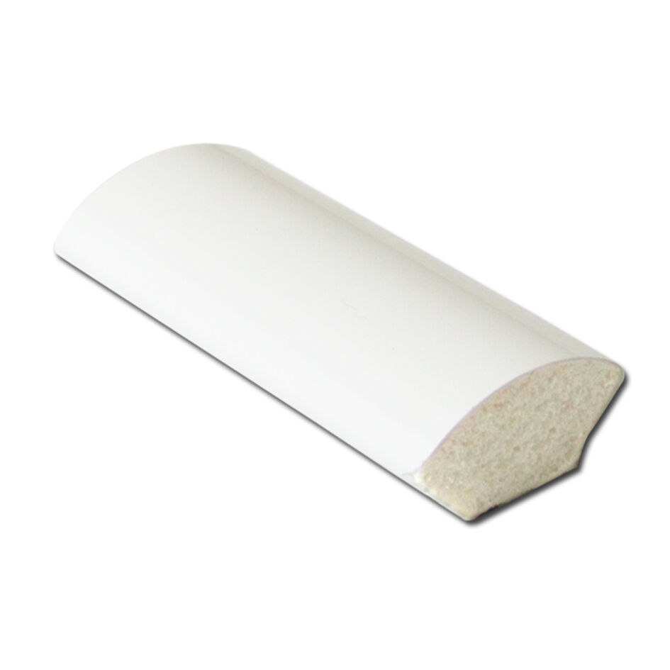 White 15mm Window Door Plastic Upvc Skirting Quadrant Trim