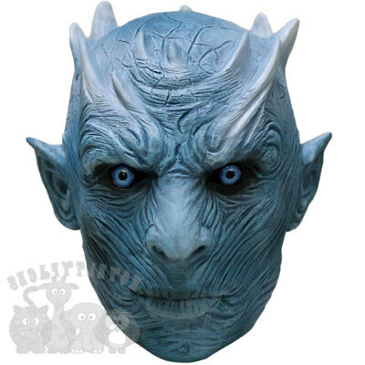 Halloween Famous TV Series Dead Ice Walker / Night King / Zombie Ice Walker Mask