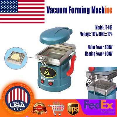 Dental Lab Vacuum Former Forming Molding Machine Equipment W Steel Balls 110v