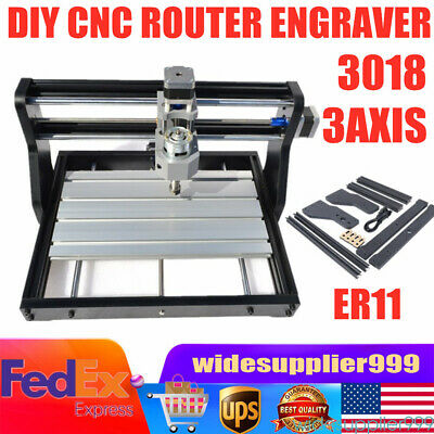 Cnc 3018pro Diy Cnc Laser Engraving Router Pcb Milling Cutting Marking Machine