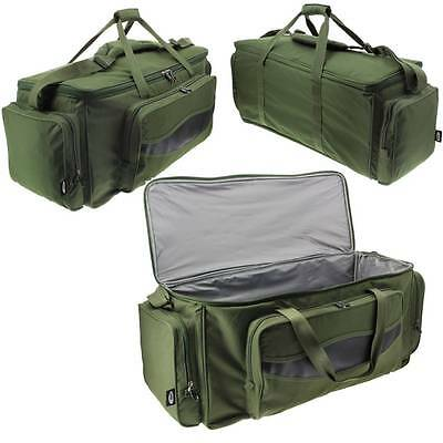 Brand New Large XXL Green Carp Fishing Tackle Bag Holdall NGT 709L Insulated Bag