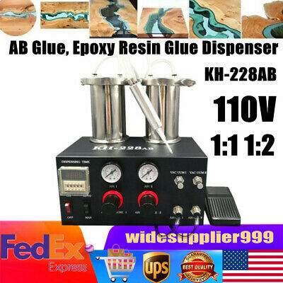 Ab Epoxy Resin Mixer Glue Dispenser Adhesive Injecting Gluing Dispensing Machine