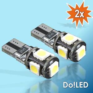 LED Standlicht W5W Canbus AUDI A2 A3 8L 8P A4 B5 B6 B7 8H A5 A6 4B 4F A8 2T105