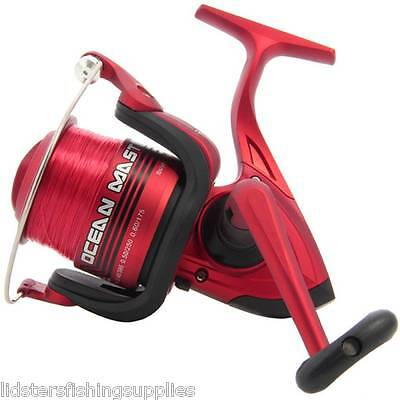 3BB LARGE SEA BEACH FISHING REEL FIXED SPARE SPOOL OCEANMASTER 70 LINEAEFFE REEL