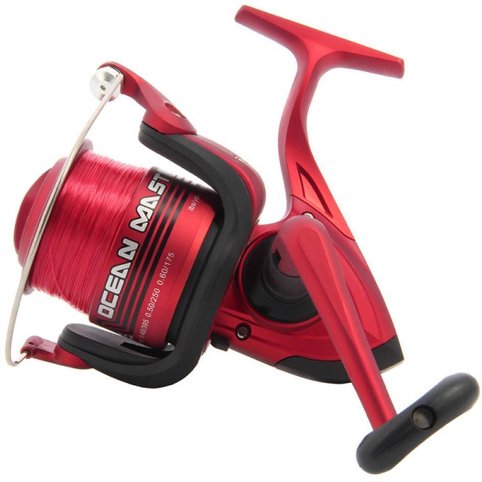 Large Sea Beechcaster Fishing Reel With Fixed Spool 3BB Lineaffe SK7 Shizuka