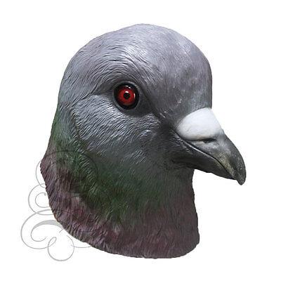 Neu! Latex Tier Realistisch Taube Vogel Cosplay Kostüm Karneval (Taube Kostüm)