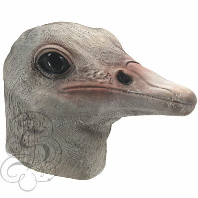 Realistic Latex Animal Ostrich Bird Fancy Props Carnival Party Cosplay Masks](Realistic Animal Costumes)