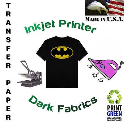 Papel Transfer Tela Oscura Dark Estampar 25 Hojas Blue Line 8.5x11 1