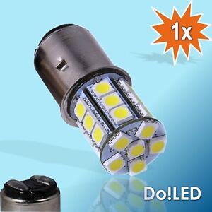 LED SMD Biluxlampe 6V 35/35W BA20D BA 20d Glühlampe Glübirne Scheinwerfer Birne