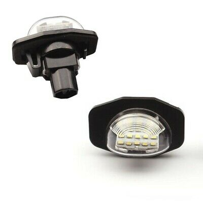 Paar Toyota Kennzeichenbeleuchtung Modul LED SMD CANBUS Corolla E14 E15 Auris