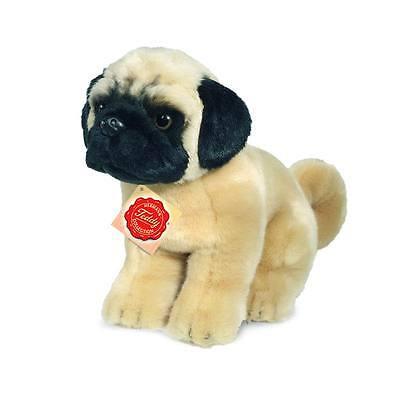 Teddy Hermann 927334 Hund Mops sitzend 25 cm