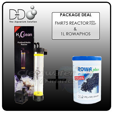 D&D H2Ocean FMR75 KIT FLUIDISED Bed MEDIA REACTOR & ROWAPHOS & Pump Sand Filter (Fluidized Sand Filter)