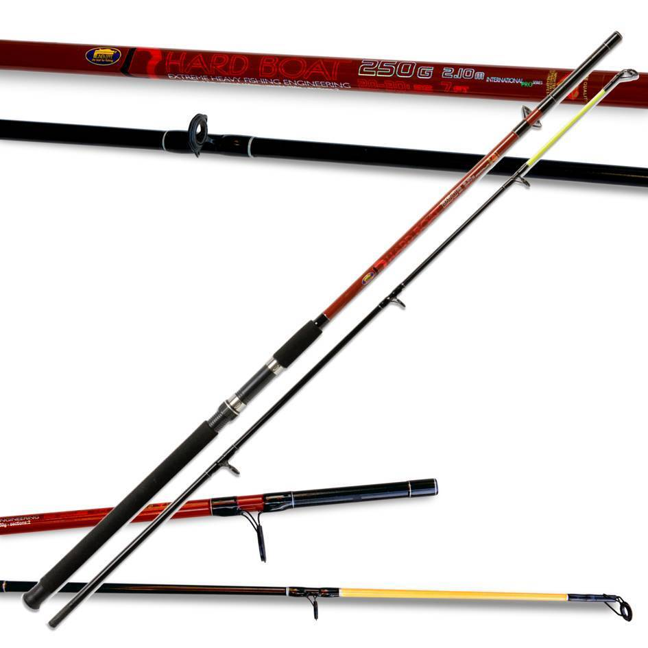 New Lineaeffe hard boat fishing rod 7ft 2pc 250g 20-30lbs Extreme heavy Fishing