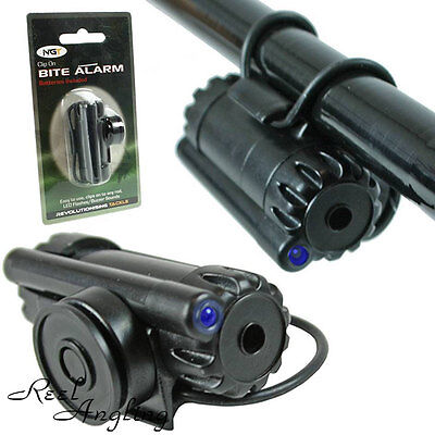 NGT Z Alarm Clip On Fishing Bite Alarm Carp Pike Coarse Angling Fits Most Rod