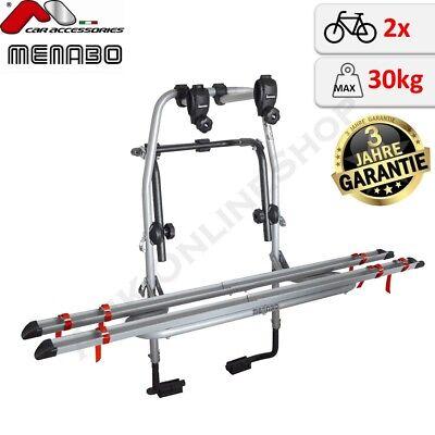 Menabo Fahrradträger Logic 2 für Mitsubishi Colt VI Typ Z3/_A//Z2/_A 2 Räder  PKW