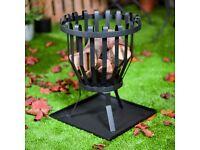 La Hacienda Fire Basket - ALBERTA Customer return as unwanted item