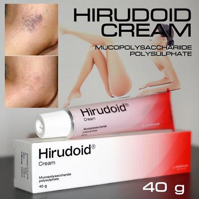 Hirudoid Cream For Scar Bruises Varicose Vein Inflamed Veins 40G