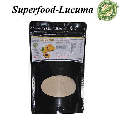 1000 g Lucuma - 100 % reines Fruchtpulver, 1A Premium Rohkostqualität