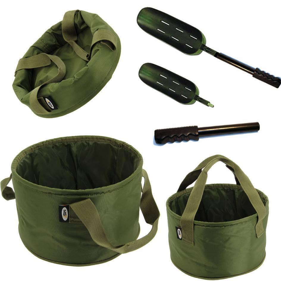 Rembourré suprême de Pêche Appâts Mélange Bol Ground Bait Sac Bucket Carp Tackle 019